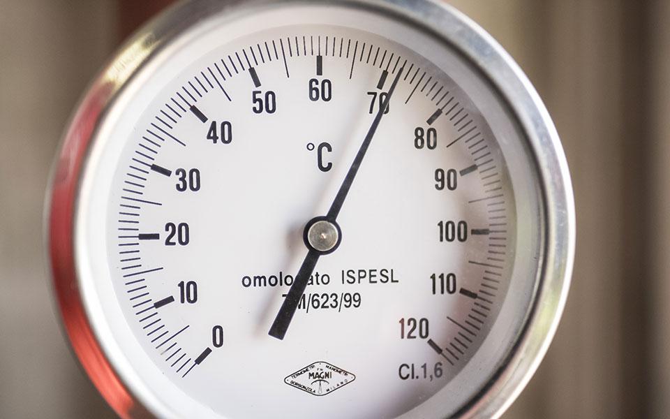 Termometro omologato ispesl